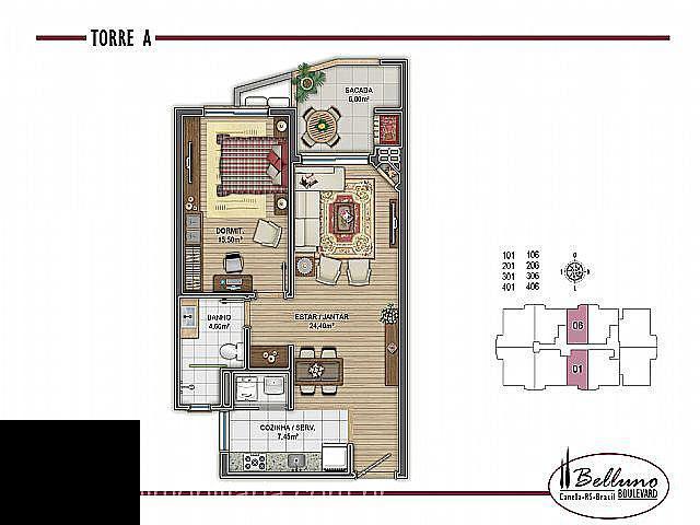 Apartamento para Venda em Canela no bairro CENTRO
